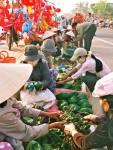 Chợ Gò, Tuy Phước (ảnh: Đào Tiến Đạt)