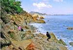 Bãi tắm Hoàng Hậu, Quy Nhơn (ảnh: Đào Tiến Đạt)
