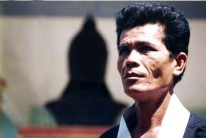 Thầy võ Bình Định - Ảnh Gosanh.vn
