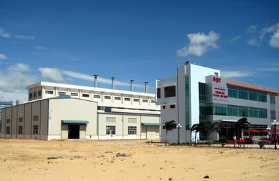Nhà máy xỉ titan Cty Khoảng sản Sài Gòn - Quy Nhơn