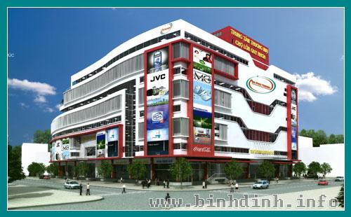 Trung tâm thương mại Chợ Lón Quy Nhơn