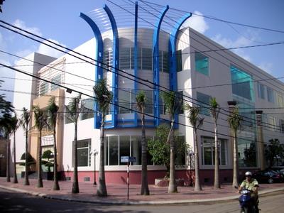 Trung tâm thương mại PETEC BIDICO đã xây dựng hoàn thành giai đoạn 1.