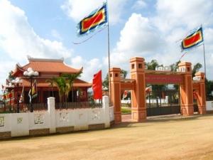 Đền thờ Nữ đô đốc Bùi Thị Xuân (Ảnh: ST FB Chau Trangoc)