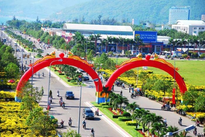 TP Quy Nhơn (Ảnh Hoa Khá)